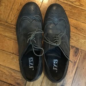 J75 by Jump grey Farley oxford men's shoes